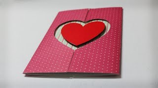 How to make Valentine Cards - Homemade Greeting Card Ideas