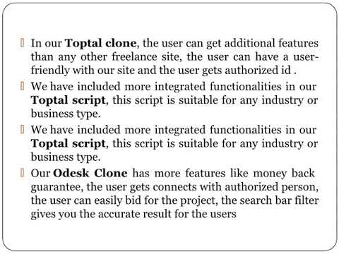 Odesk Script - Odesk Clone (Freelancer Script)