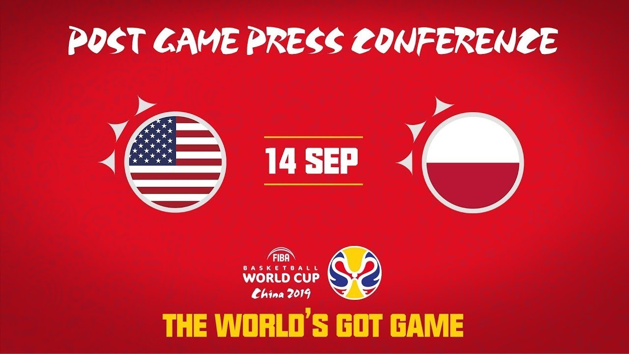 USA v Poland - (Polish Part) - Press Conference