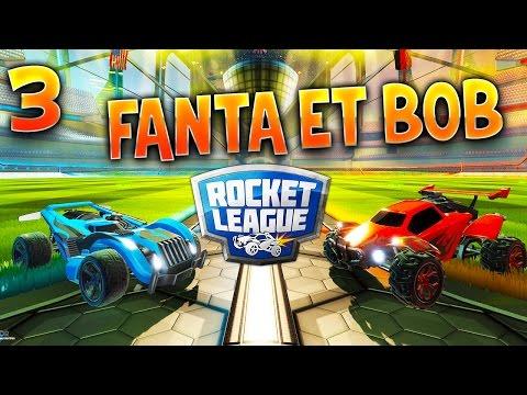 Fanta et Bob - Ep.3 : SUPER EQUIPE - COOP sur Rocket League