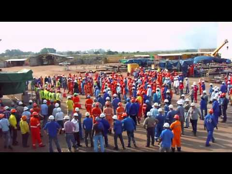 16. Health & Safety FLASH MOB - THE MORNING MUSCLE TONING [Angola]