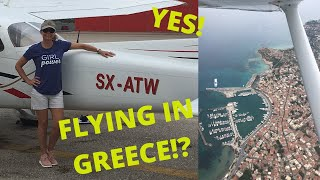 Renting a Plane in Greece!