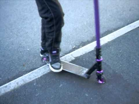 how to make a grind rail for scooters