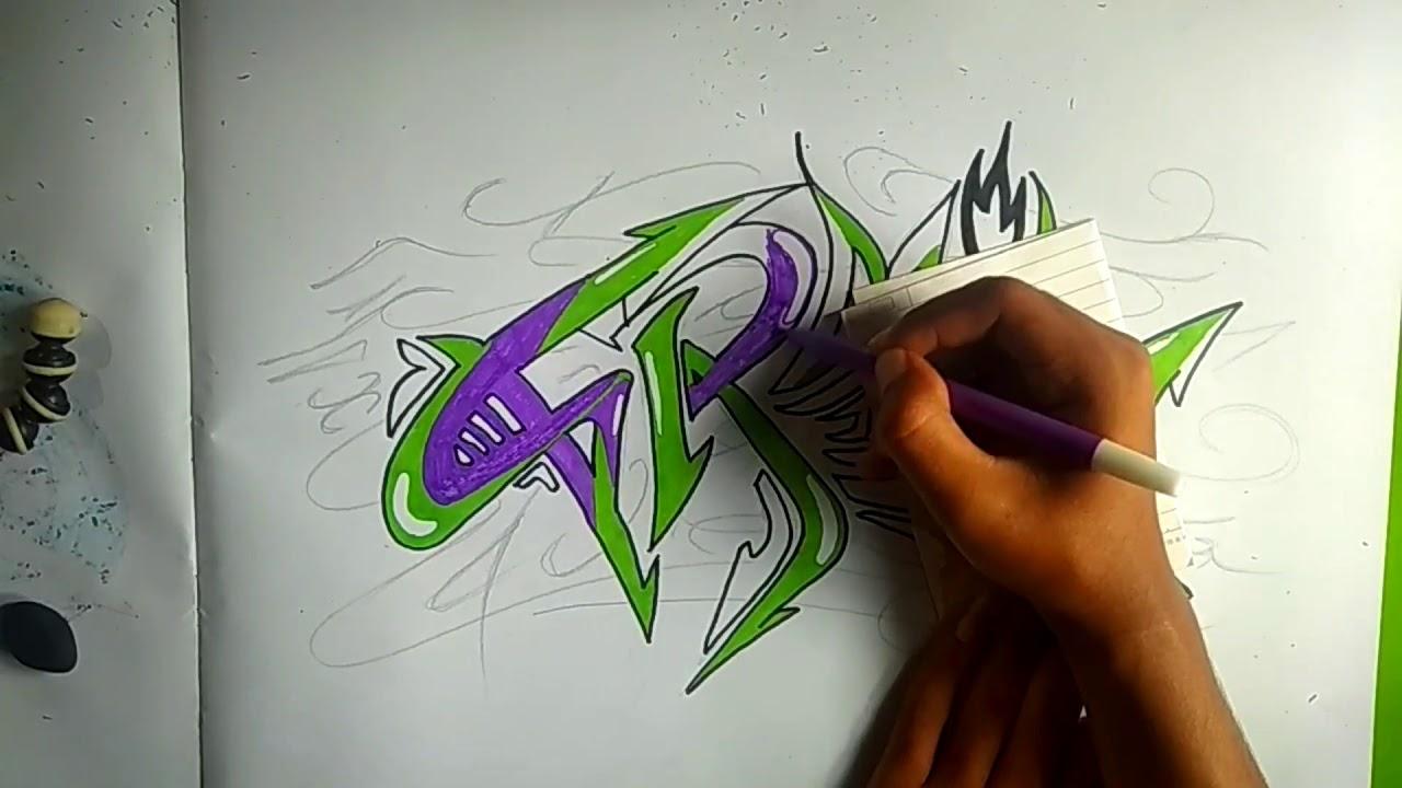 Graffiti 3d Di Kertas Simple – Cuitan Dokter