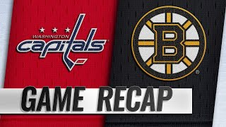 Ovechkin, Holtby power Capitals past Bruins, 4-2