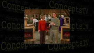 Concepts TV Produces:  Heat Surge Amish Fireplace