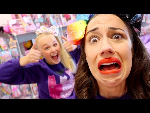 24 HOURS STUCK IN JOJO SIWA'S MERCH ROOM!
