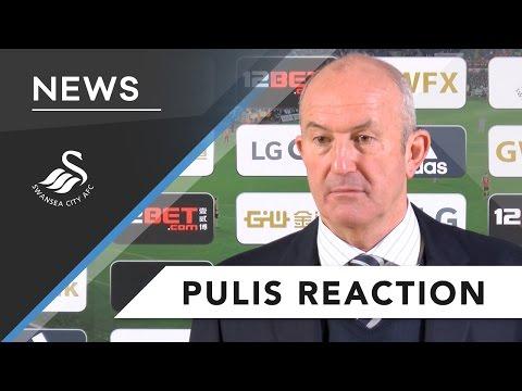 Swans TV - Reaction : Tony Pulis on Swansea loss