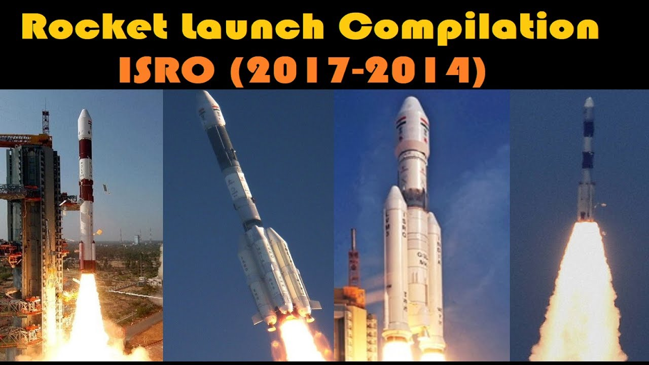 Rocket Launch Compilation Indian Rockets Go To Space Youtube