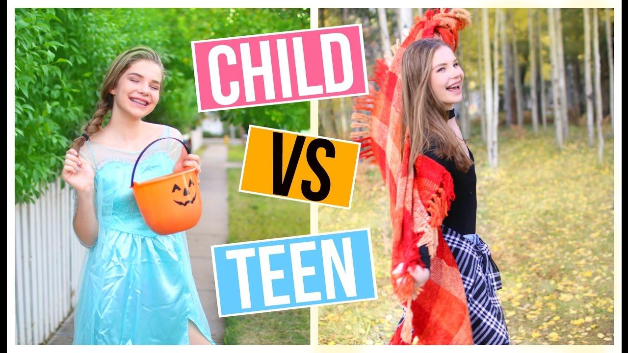 Child You Vs Teen You