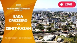 Sada Cruzeiro v Zenit-Kazan - Men's Club World Championship(Watch the live stream of the FIVB Men's Club World Championship from Betim here! About the FIVB Men's Club World Championship ..., 2016-10-21T00:16:46.000Z)