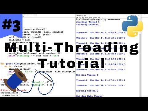 Python Multithreading Tutorial #3 - Synchronizing & Locking Threads thumbnail