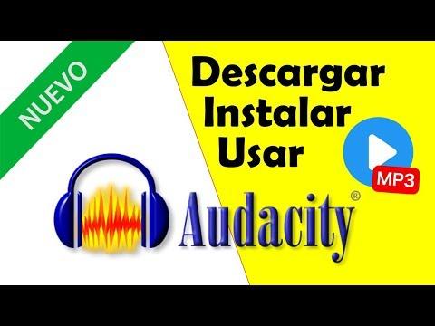 ✅ Audacity Nueva Version 🎼 Descargar Instalar Usar Con Mp3【2019】