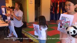 Award ceremony KKCC School 2018
