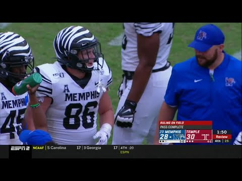 WEB EXTRA: Doc's Dissection – The Bad Call That May Have Cost The Tigers The Game Against Temple