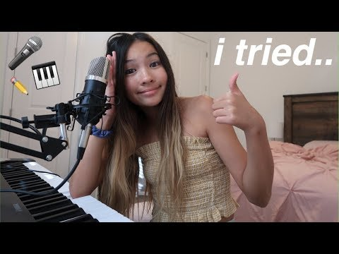 writing a song in 15 minutes | challenge