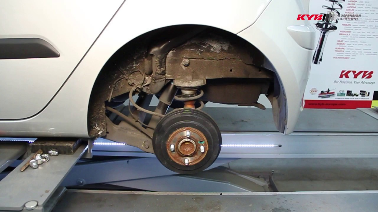 e9a9930f22 KYB HYUNDAI i10 Rear - YouTube