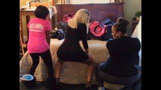 Nicki Minaj Dancing To Vybz Kartel - Tek Buddy Gal