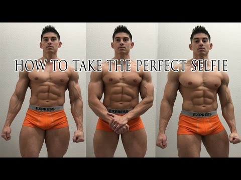 Tutorial: How To Take The Perfect Selfie / Progress Pic Instagram Bodybuilding Fitness GOAT Case