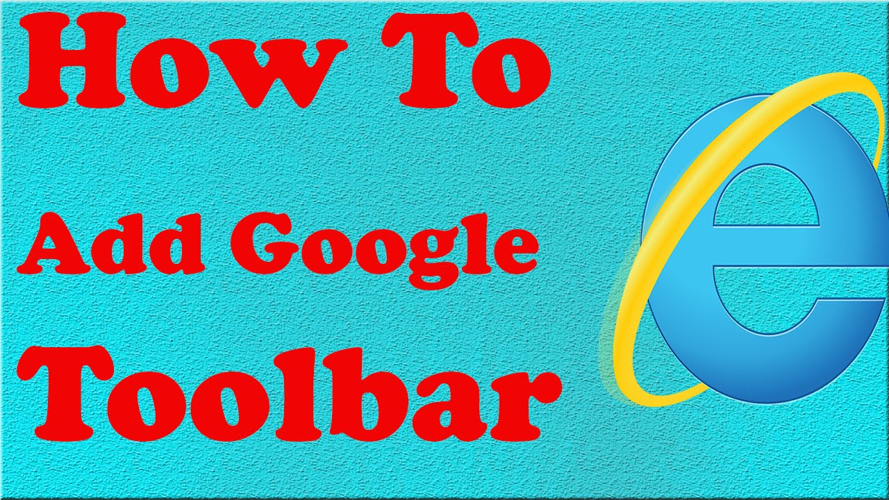 how to find google tool bar