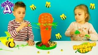 Пчелиное дерево игры для детей распаковка. Honey Bee Tree Game Games for children Видео для детей