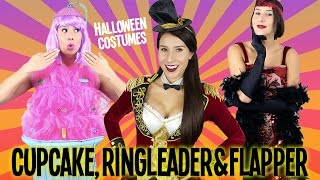 Cupcake, Ringleader & Flapper | Halloween Costumes + GIVEAWAY