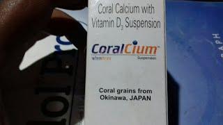 CoralCium Suspension   बच्चों के चलने में मदद करे   और दाँतो के निकलने में मदद करे   Hindi