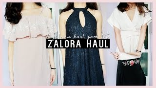 THE MOST MASSIVE TRY-ON HAUL EVER?! | ZALORA • Part 1/3
