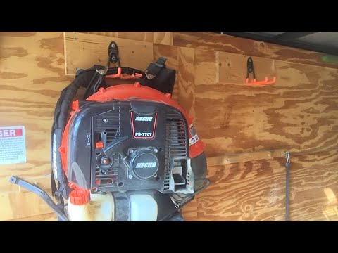 Diy Blower Rack Enclosed Trailer Quot Lawn Care Quot Youtube