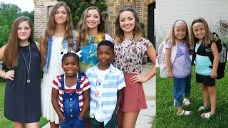 Paisley's First Day of School vs Brooklyn & Bailey's | Behind the Braids
