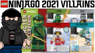 LEGO Ninjago Character Encyclopedia New Edition 2021 Revealed