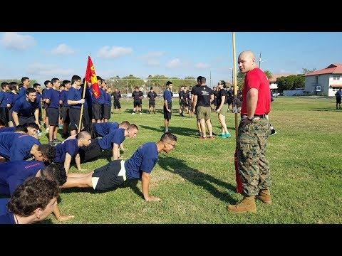 Future Marines complete IST in Harlingen, Texas