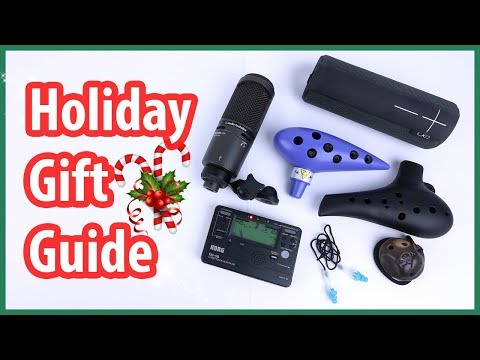 🎁 Ten Gift Ideas for Musicians and Ocarina Players 🎶 || OcTalk