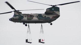 入間基地航空祭2013 チヌーク!チヌーク!Chinooooook!!! CH-47 JASDF I...