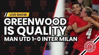 Man United 1-0 Inter Milan   Mason Greenwood To Start Ahead of Dan James?!
