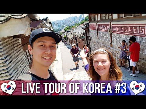 Bukchon Hanok Village 북촌한옥마을 - 🇰🇷 LIVE TOUR OF KOREA #3