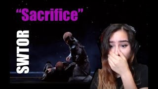 "Star Wars The Old Republic ""Sacrifice"" Reaction"