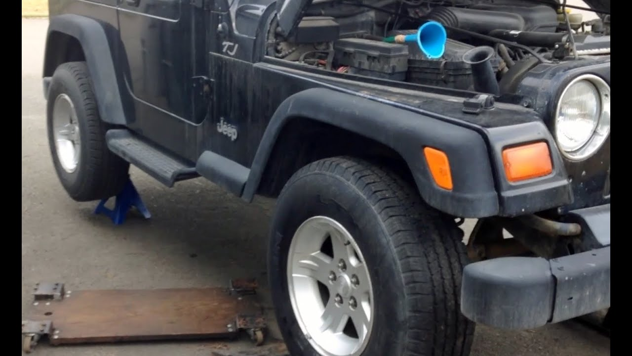 2003 jeep wrangler manual transmission fluid capacity