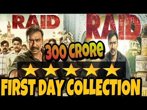 Raid Movie Collection: 1'st Day Collection, Bumper Opening | Ajay Devgn | Ileana D'cruz