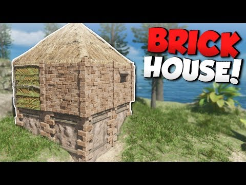 BUILDING A BRICK HOUSE! - Stranded Deep Gameplay - Island Survival Game