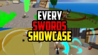⚔ EVERY SWORDS SHOWCASE IN BLOX PIECE! ROBLOX