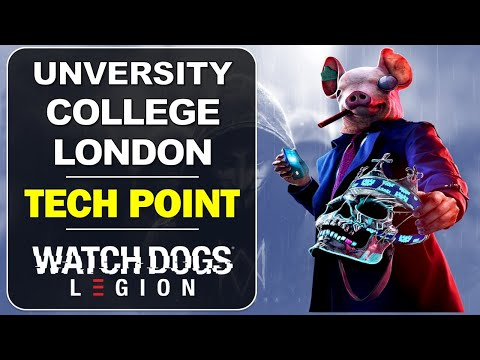 University College London: Tech Point Location | Camden | Watch Dogs Legion Collectibles Guide