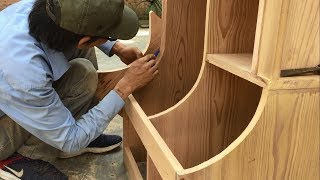 Amazing Curved Woodworking Projects - Craft Skills Fastest And Easiest Of Carpenter