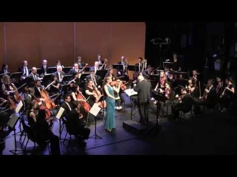 Claudia Schaer ~ Sibelius concerto (excerpt)