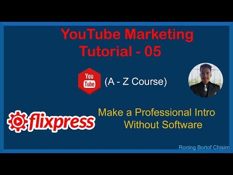 Make a Professional Intro Without Software    YouTube Marketing Tutorial - 05    thumbnail