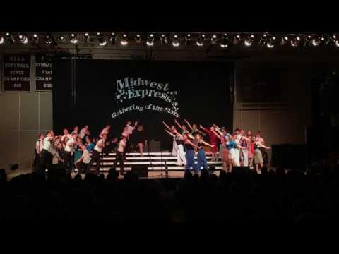 Sauk Prairie Executive Session Finals performance at the Gathering of the Stars Invitational