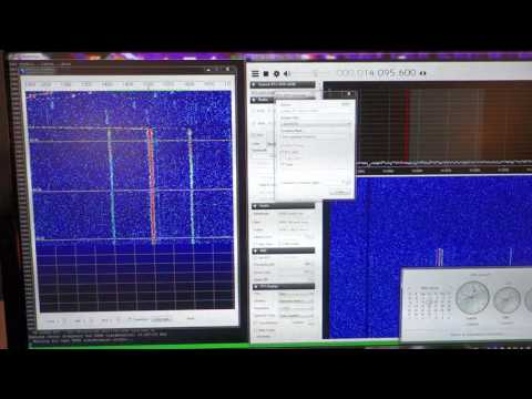 Receiving WSPR mode at 20m with RTL-SDR dongle in direct sampling