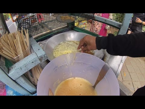 Indonesia Tangerang Street Food 2822 Telur Gulung Cisadane Classic YDXJ0134