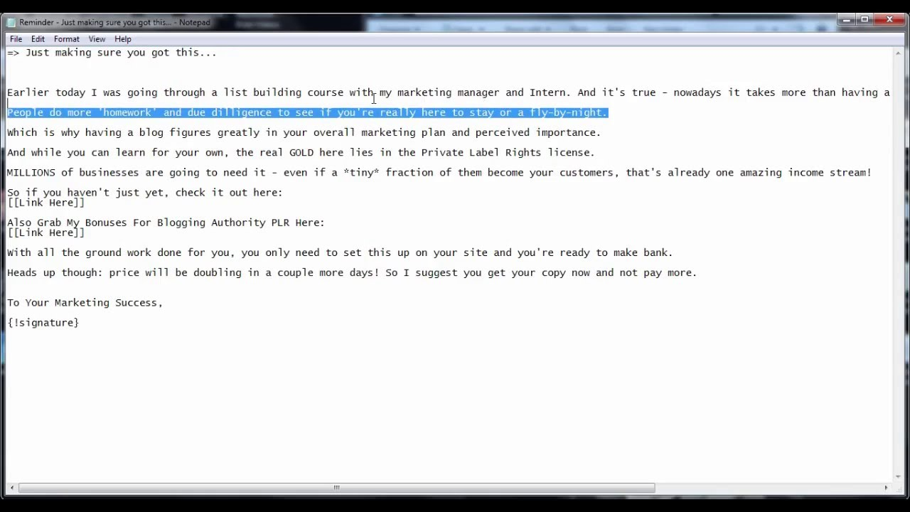 How To Write Reminder Emails? - YouTube