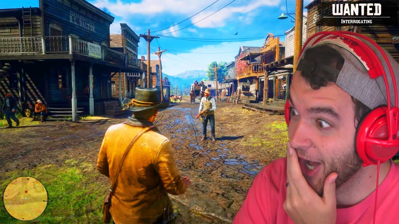 Red Dead Redemption 2 Gameplay Reaction Official Gameplay Trailer 4 Rdr 2 Gameplay Ps4
